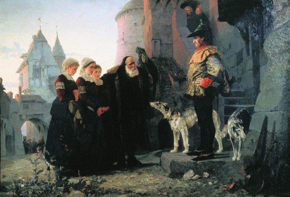 Droit du seigneur - Vasily Polenov