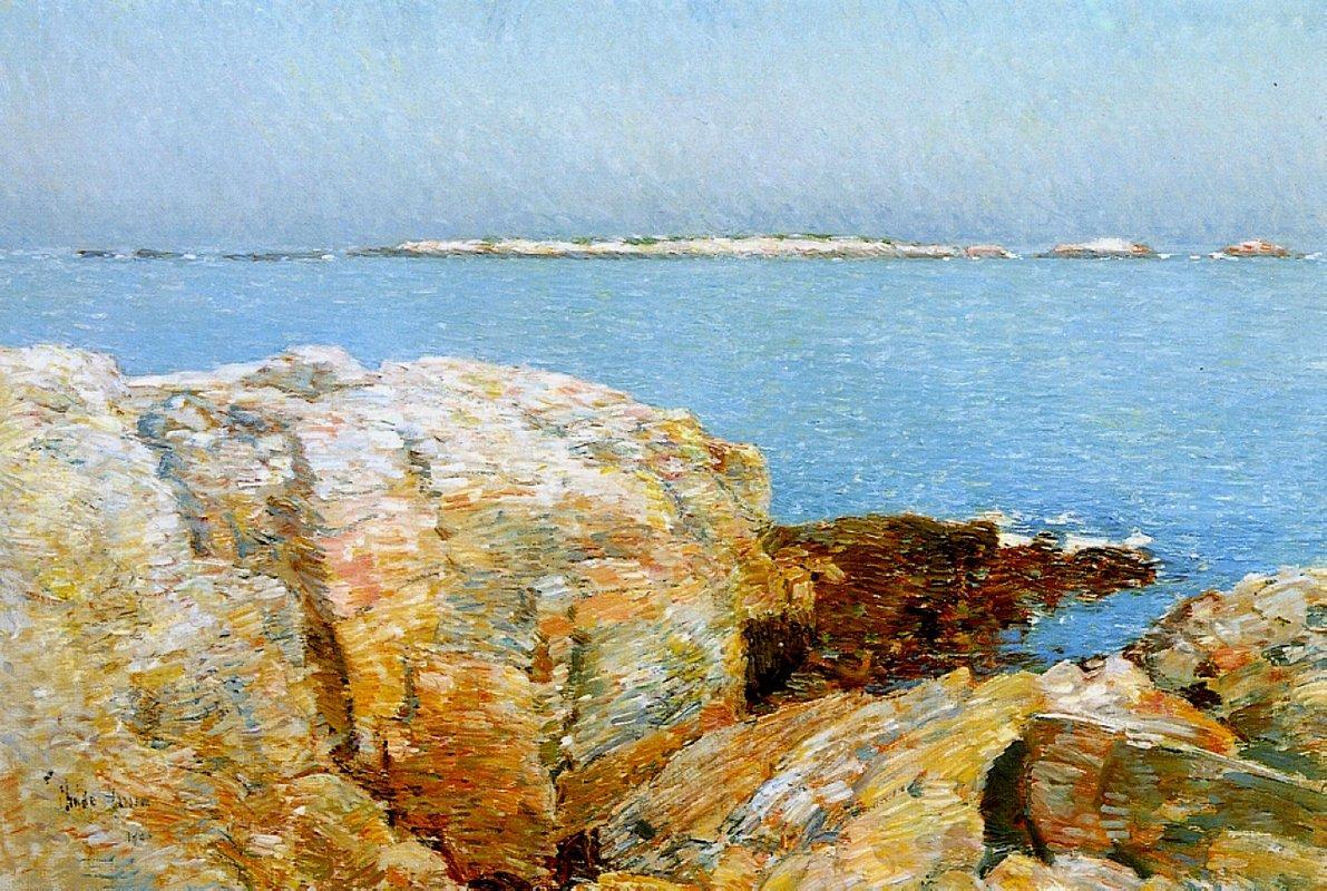 Duck Island - Childe Hassam