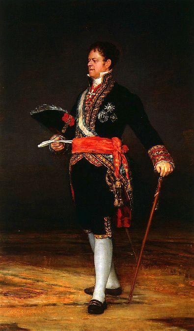 Duke of San Carlos - Francisco Goya