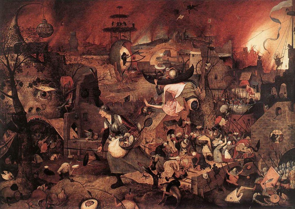 Dulle Griet (Mad Meg) - Pieter Bruegel the Elder