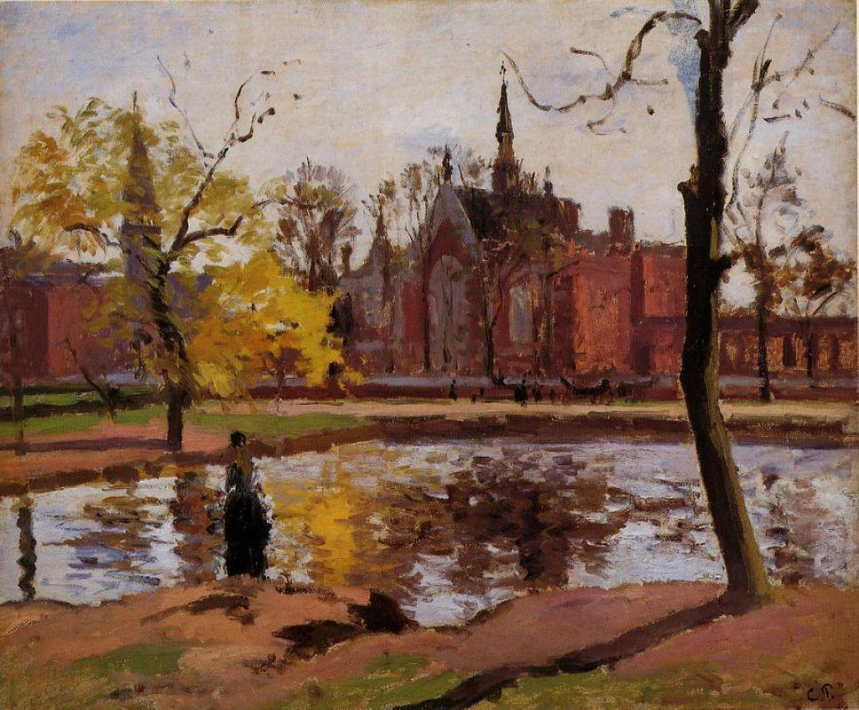 Dulwich College, London - Camille Pissarro