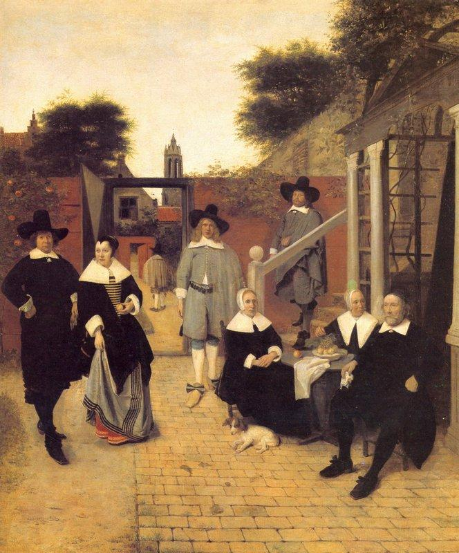 Dutch family - Pieter de Hooch