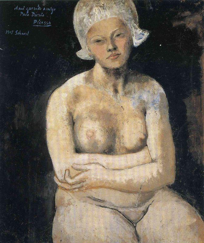 Dutch girl - Pablo Picasso