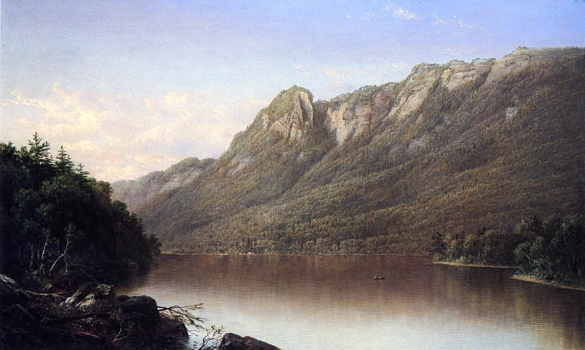 Eagle Cliff, Franconia Notch, New Hampshire  - David Johnson