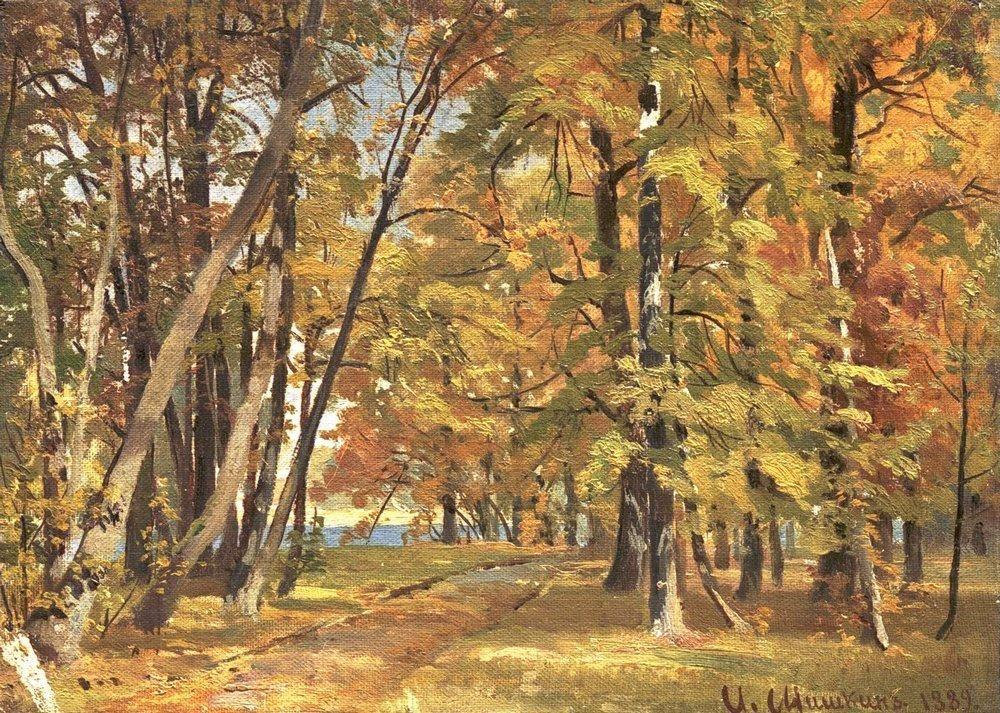 Early Autumn - Ivan Shishkin