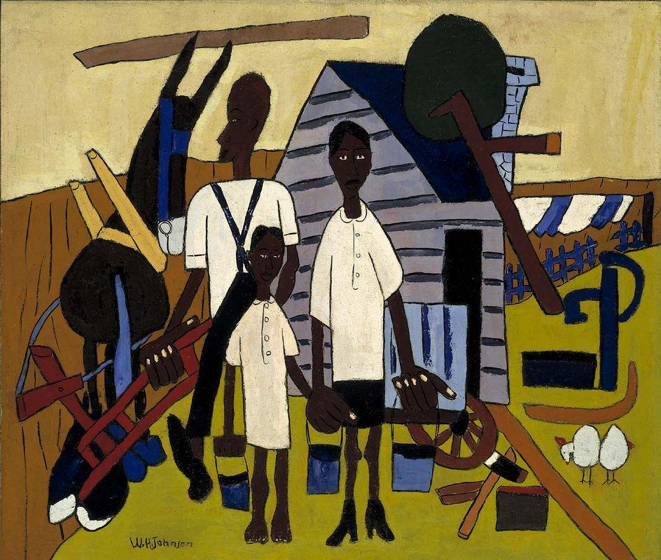 Early Morning Work - William H. Johnson