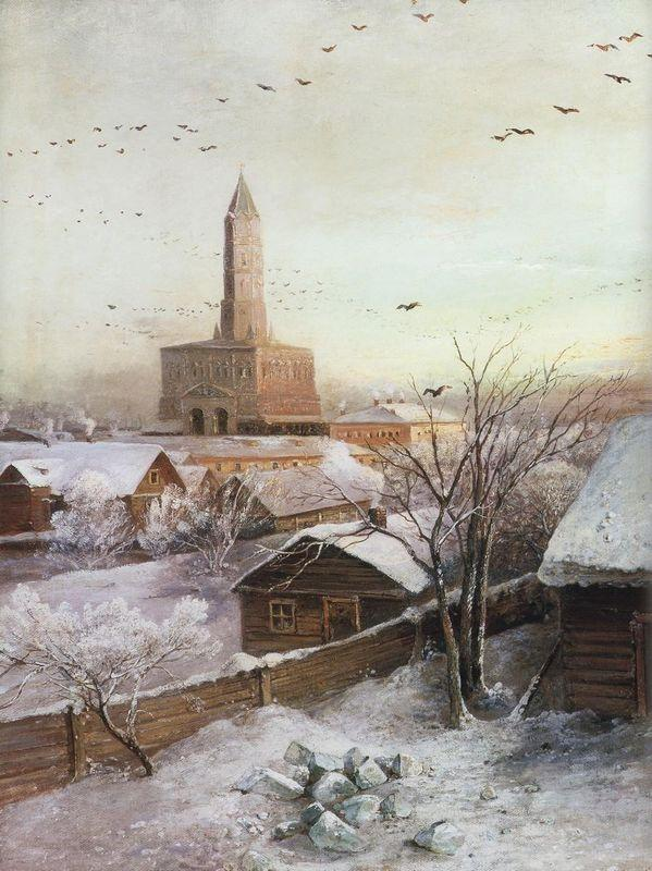 Early Spring. Flood - Aleksey Savrasov