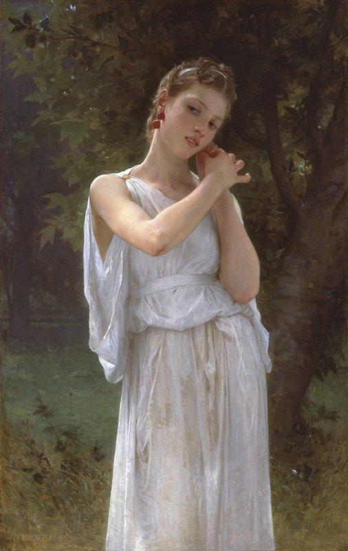 Earrings - William-Adolphe Bouguereau