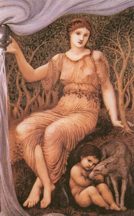 Earth Mother - Edward Burne-Jones