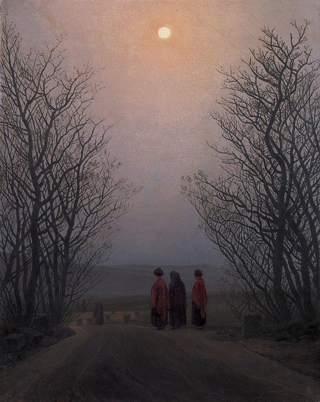 Easter Morning - Caspar David Friedrich