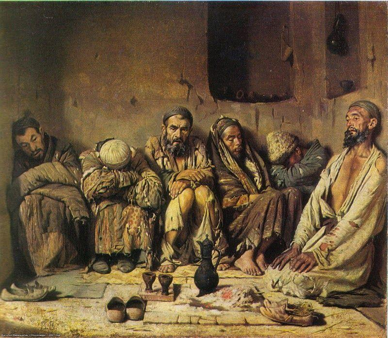 Eaters of opium - Vasily Vereshchagin