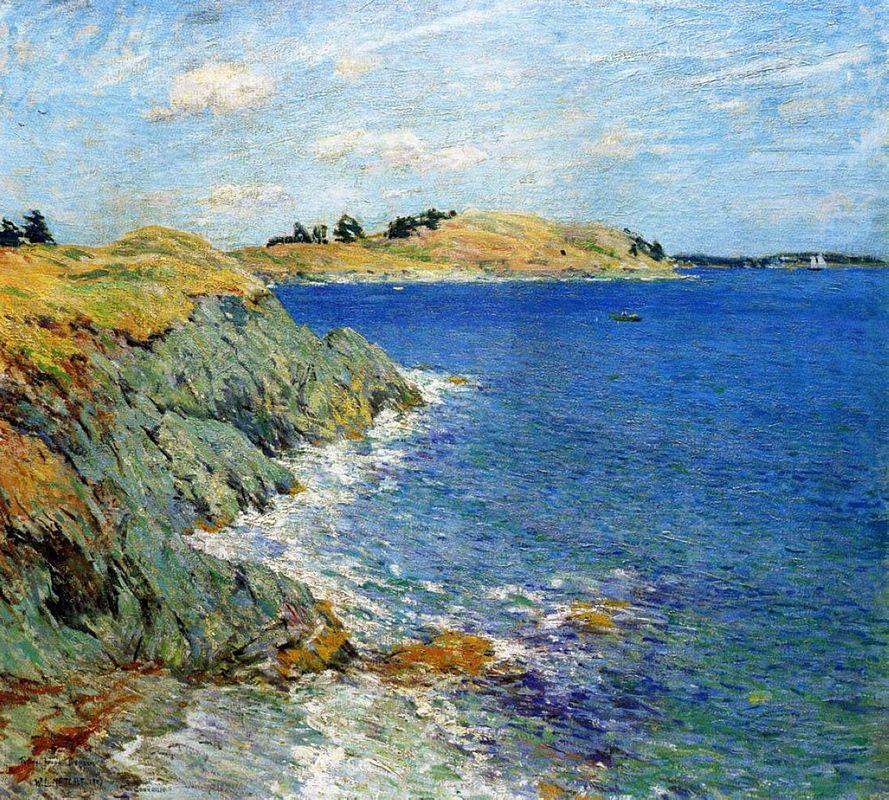 Ebbing Tide, Version Two - Willard Metcalf