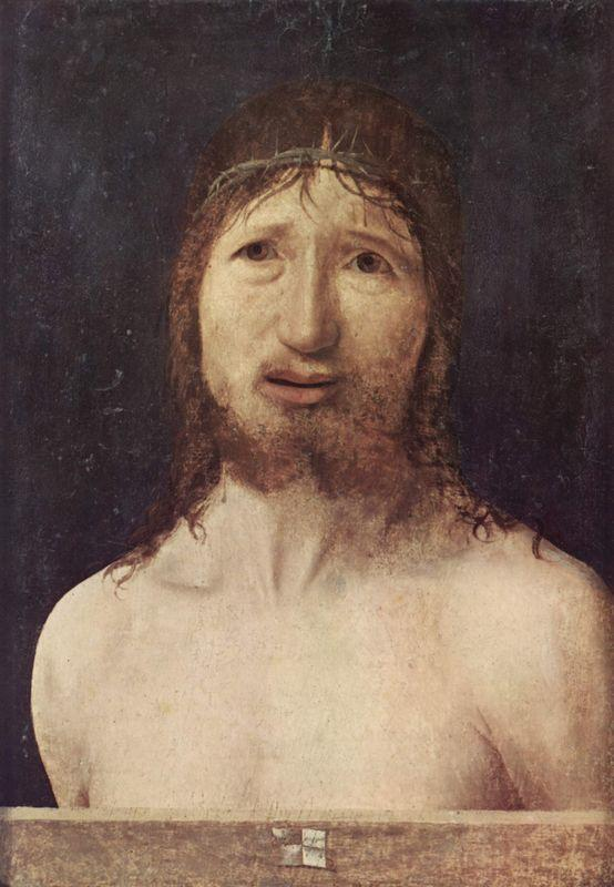 Ecce Homo - Antonello da Messina