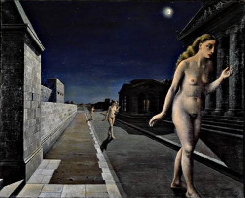 Echo - Paul Delvaux