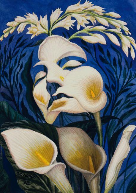 Ecstasy of the lillies - Octavio Ocampo