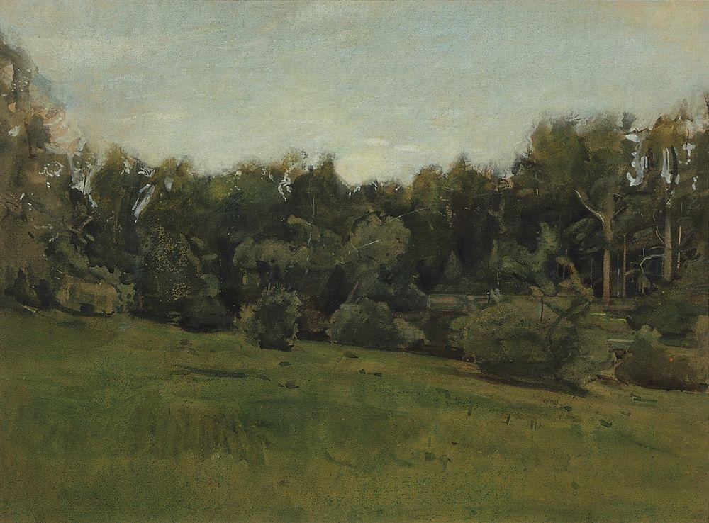 Edge of the Forest. Ligovo - Konstantin Somov