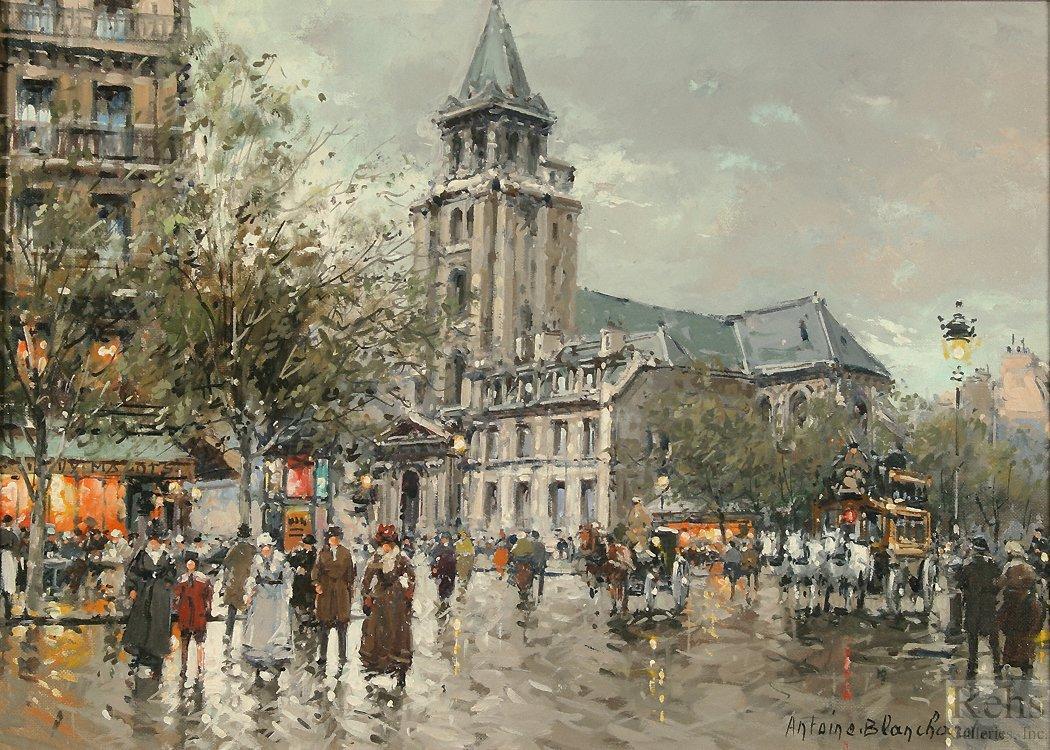 Eglise de Saint Germain des pres - Antoine Blanchard