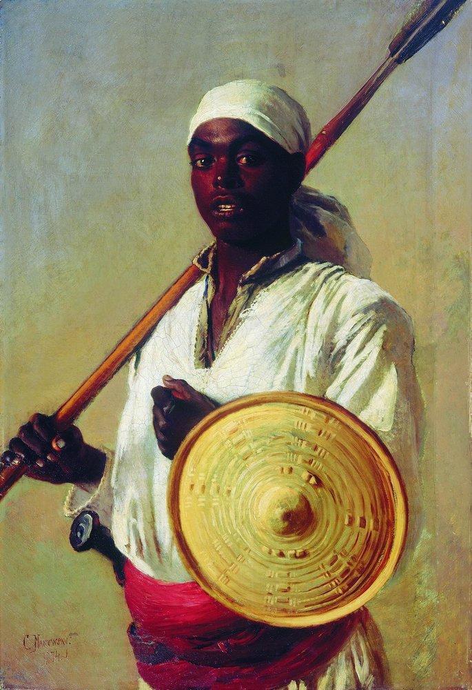 Egyptian Warrior - Konstantin Makovsky