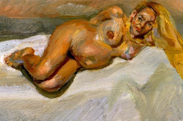 Eight Months Gone - Lucian Freud