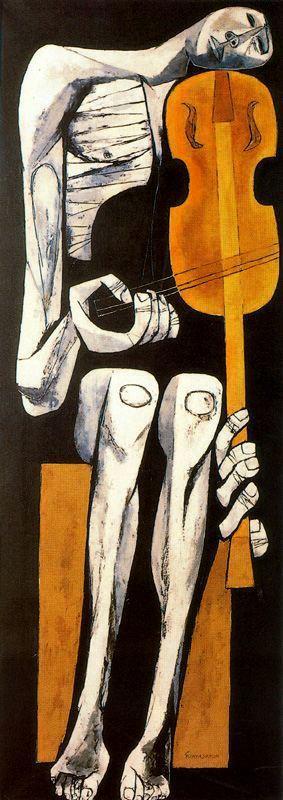 El violinista - Oswaldo Guayasamin