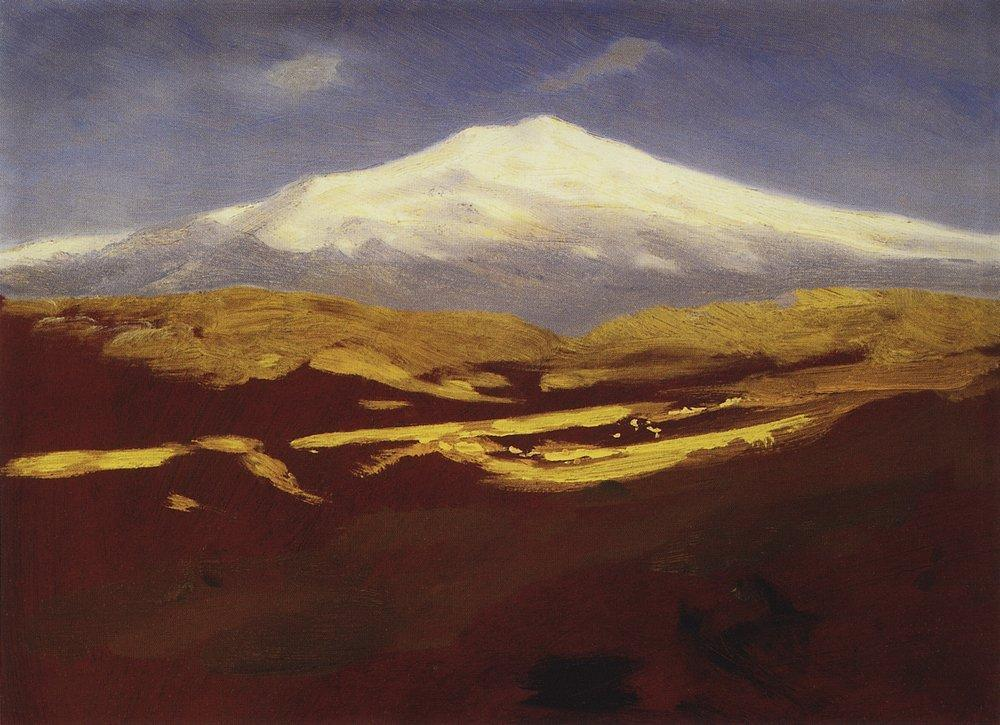 Elbrus in the daytime - Arkhip Kuindzhi
