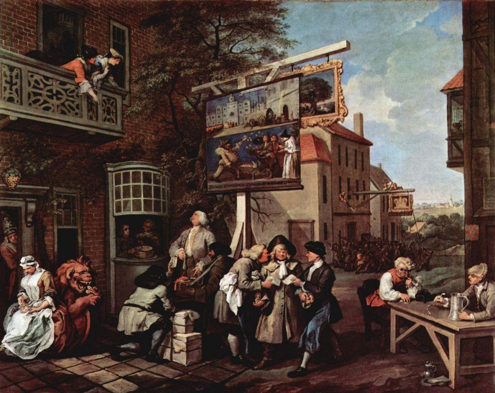 Election propaganda - William Hogarth