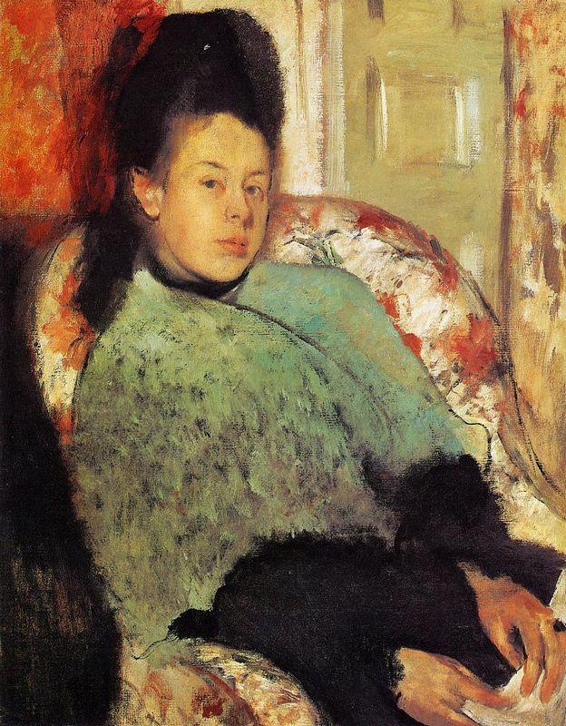 Elena Carafa - Edgar Degas
