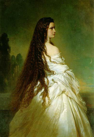 Elisabeth Kaiserin von Osterreich - Franz Xaver Winterhalter