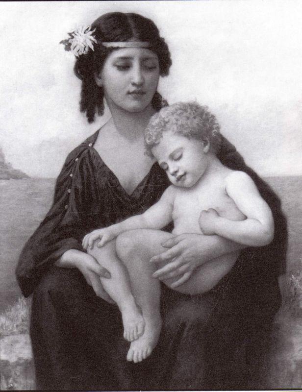 Elizabeth By the Seashore - William-Adolphe Bouguereau