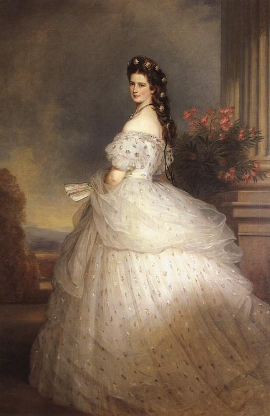 Elizabeth, Empress of Austria - Franz Xaver Winterhalter
