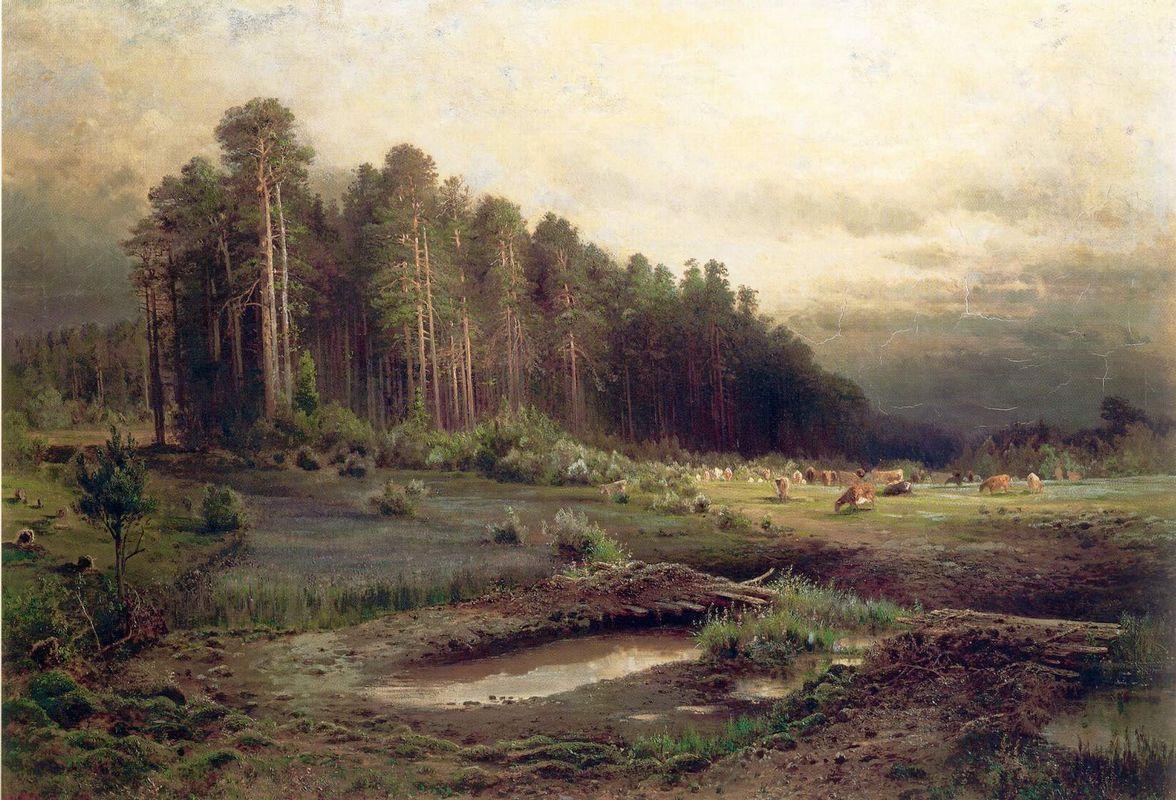 Elk Island in Sokolniki - Aleksey Savrasov