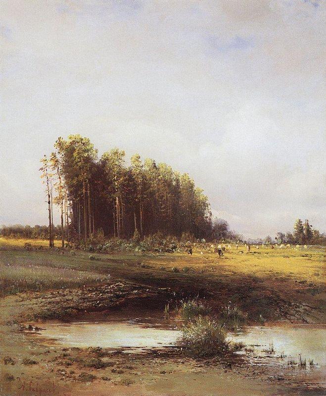 Elk Island - Aleksey Savrasov