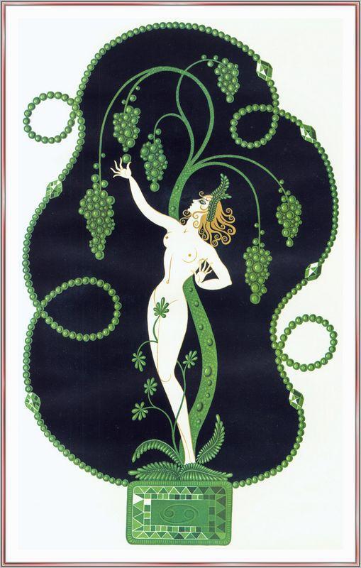 Emerald - Alphonse Mucha