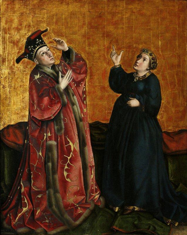 Emperor Augustus and the Sybil of Tibur - Konrad Witz