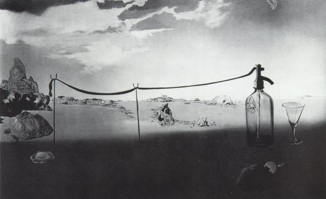 Enchanted Beach (Long, Siphon) - Salvador Dali