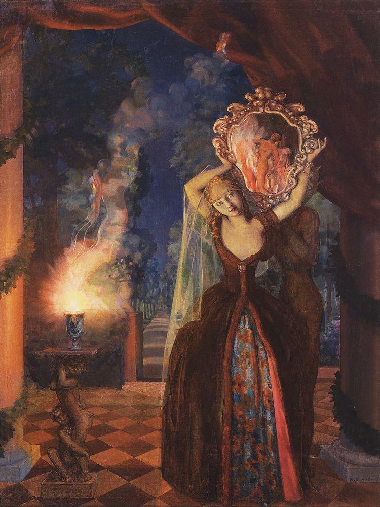 Enchantress - Konstantin Somov