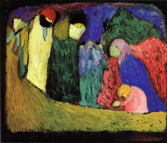 Encounter -  Wassily Kandinsky