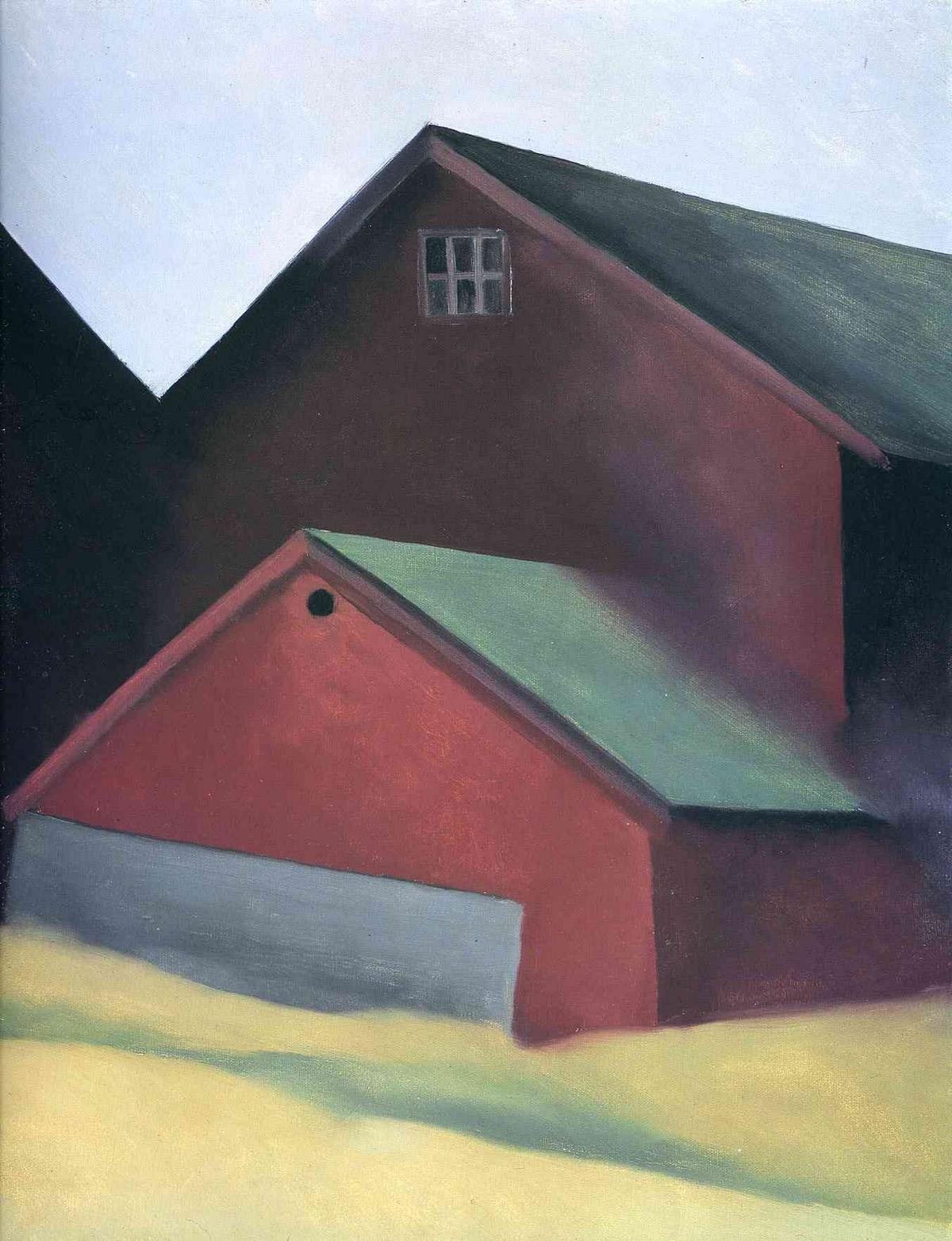 Ends Of Barns - Georgia O'Keeffe