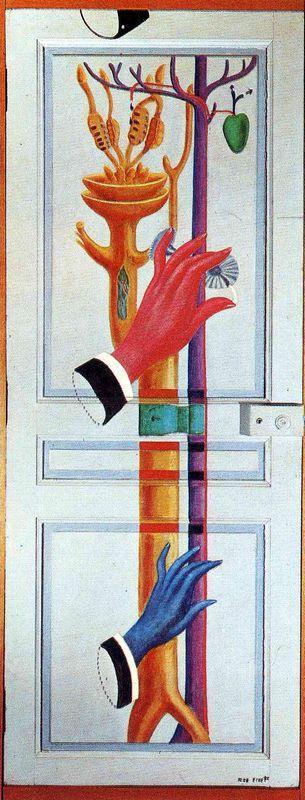 Enter, Exit - Max Ernst