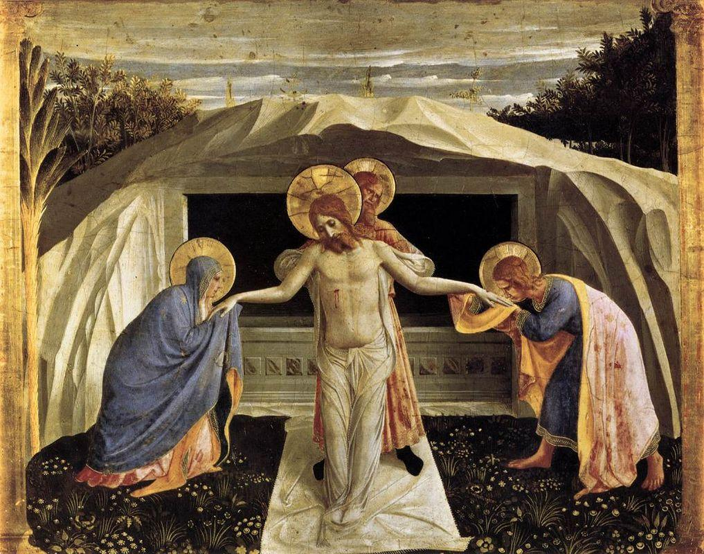 Entombment - Fra Angelico