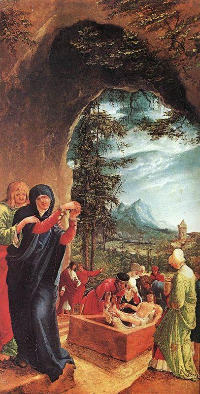 Entombment of Christ - Albrecht Altdorfer