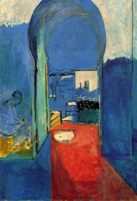 Entrance to the Kasbah - Henri Matisse