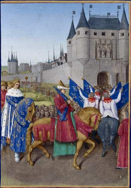 Entry of Charles V in Paris - Jean Fouquet