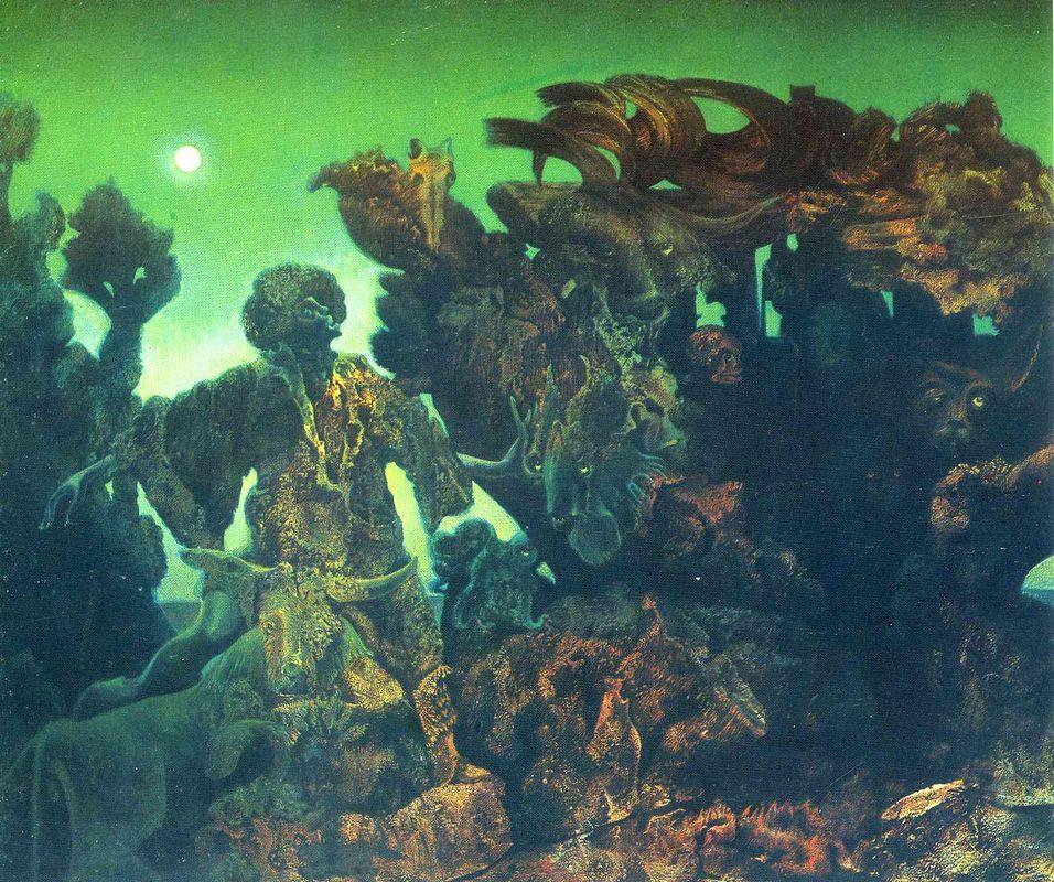 Epiphany - Max Ernst