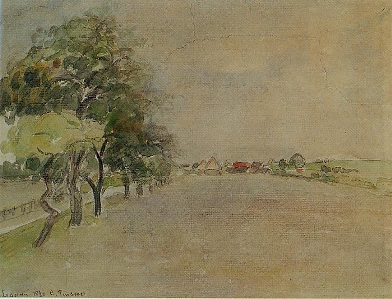 Eragny - Camille Pissarro