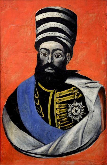 King Erekle II of Georgia - Niko Pirosmani