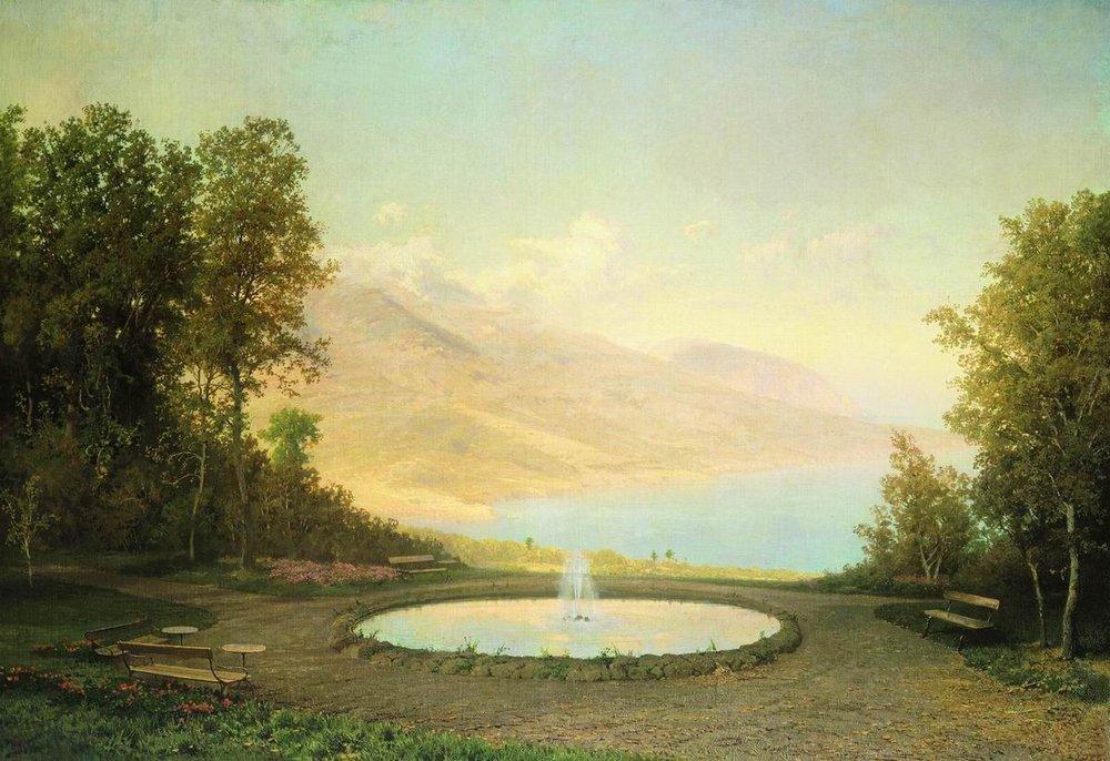 Eriklik the Fountain (Crimea) - Fyodor Vasilyev