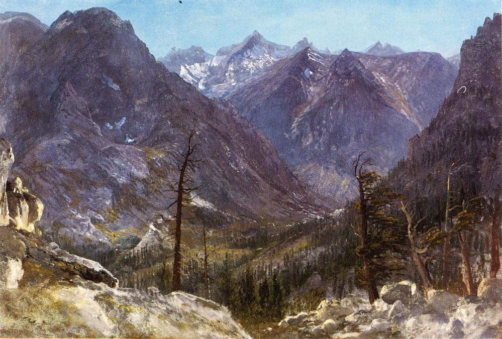 Estes Park, Colorado - Albert Bierstadt