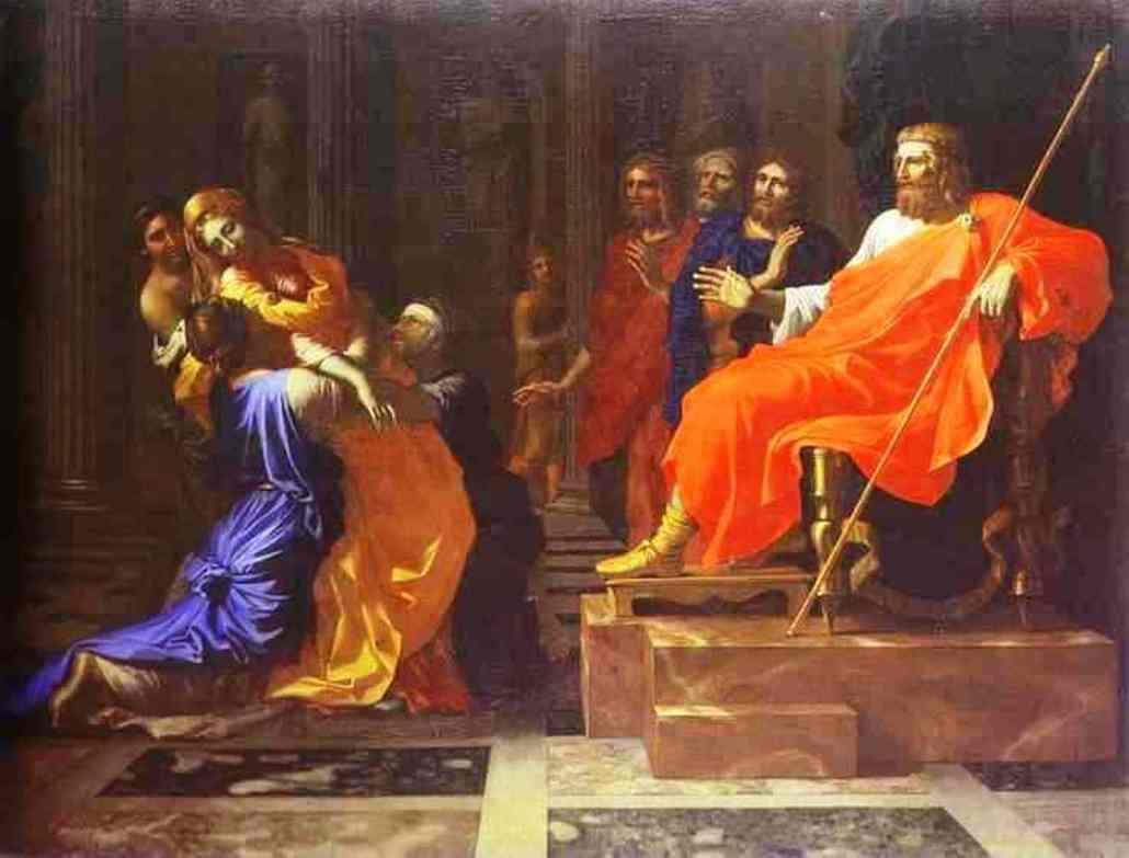 Esther before Ahasuerus - Nicolas Poussin