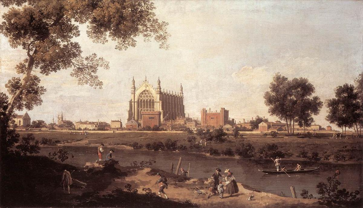 Eton College Chapel - Canaletto